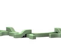 Temporary Biodegradable Urban Seating