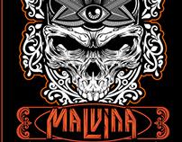 Malvina Gig Poster