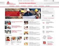Site Portal dos Municípios Banco BDMG