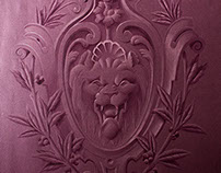 19th Century Lion Ornament