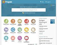 Prisjakt/Pricespy Website Refresh