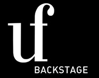 UF backstage branding & website concept