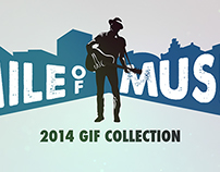 Mile of Music 2014 Gif Collection