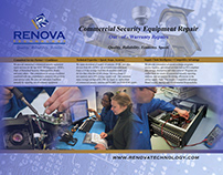 Renova Technology trade show display
