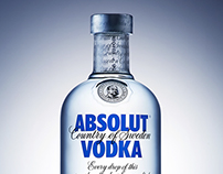 Absolut vodka / Personal project