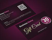 Premium Gift Card / Gift Voucher Template
