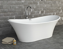 Jacuzzi Bathtub - 3D Photo staging