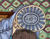 Ilustración, Tema la memoria como proyección audiovisua