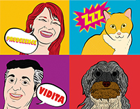 FAMILIA POP ART