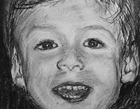 Portrait of a child (commissioned)