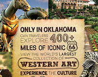 Oklahoma Tourism Magazine Advertisement