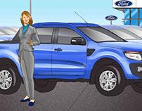 Ford Ranger Test Drive Challenge