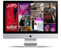 The Guest: Website Concept #1