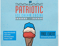 Patriotic Ice Cream Social