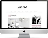 Emma - Premade Blogger Template