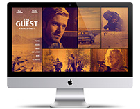 The Guest: Website Concept #2