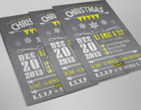 Company Christmas Party Poster