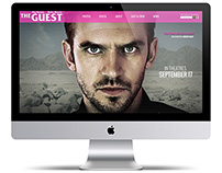 The Guest: Website Concept #3