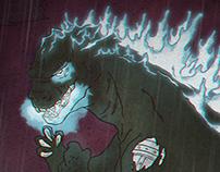 Godzilla Art Collaboration - Mecha Godzilla