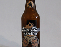 Glass Bottle Design- Lone Star