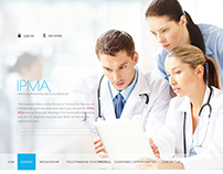 Medical Web template