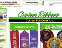 Web Design- Custom Ribbons