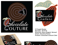 Packaging Design for Chocolate Couture Cake (WIP)