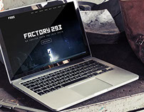 FACTORY 293 | Responsive One-Page Website Redesign