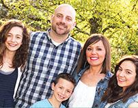 Scordelis Family Prayer and Donation Card