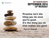 Daily Motivator, Malcolm Gladwell