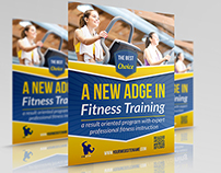 Fitness - GYM Flyer Template Vol.2