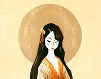 Geisha - Japanese Print