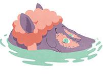 C'est l'histoire d'un hippopotame
