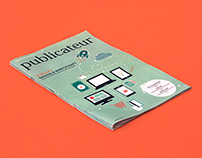 publicateur newspaper #02 | Illustration and layout