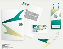 Set of works: Saint-Petersburg identity design on IIF