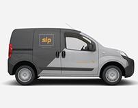 SLP Logistic Logo, Brandbook, Brochure, Responsive Web