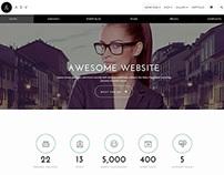 ADV - Multipurpose One Page WordPress Theme