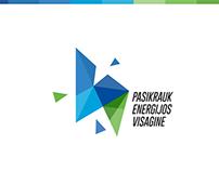 Visaginas Municipality Logo/Brandbook