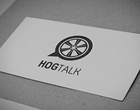 HogTalk Motorcycle Forum App Logo