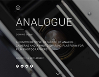 ANALOGUE :: Landing Page