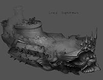 Ancient dwarven ship - Sigantium