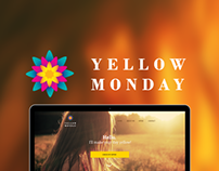 Yellow Monday branding
