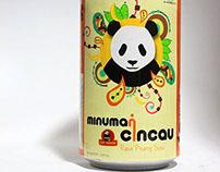 Cincau Cap Panda Packaging Design