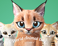 World Animal Day!