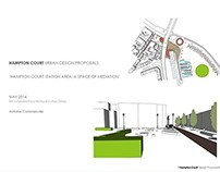 Hampton Court Station area / Vision & objectives.