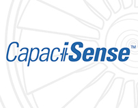 CapaciSense brand design and supporting literature