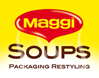 Maggi Soups Packaging Restyling