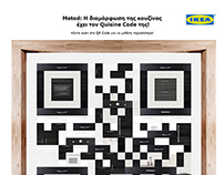 IKEA Metod kitchen QR code installation.