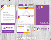 Branding and Identity for CRESCENT BUSINESS CONSULTANTS