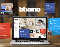 BTicino Consumer Website
